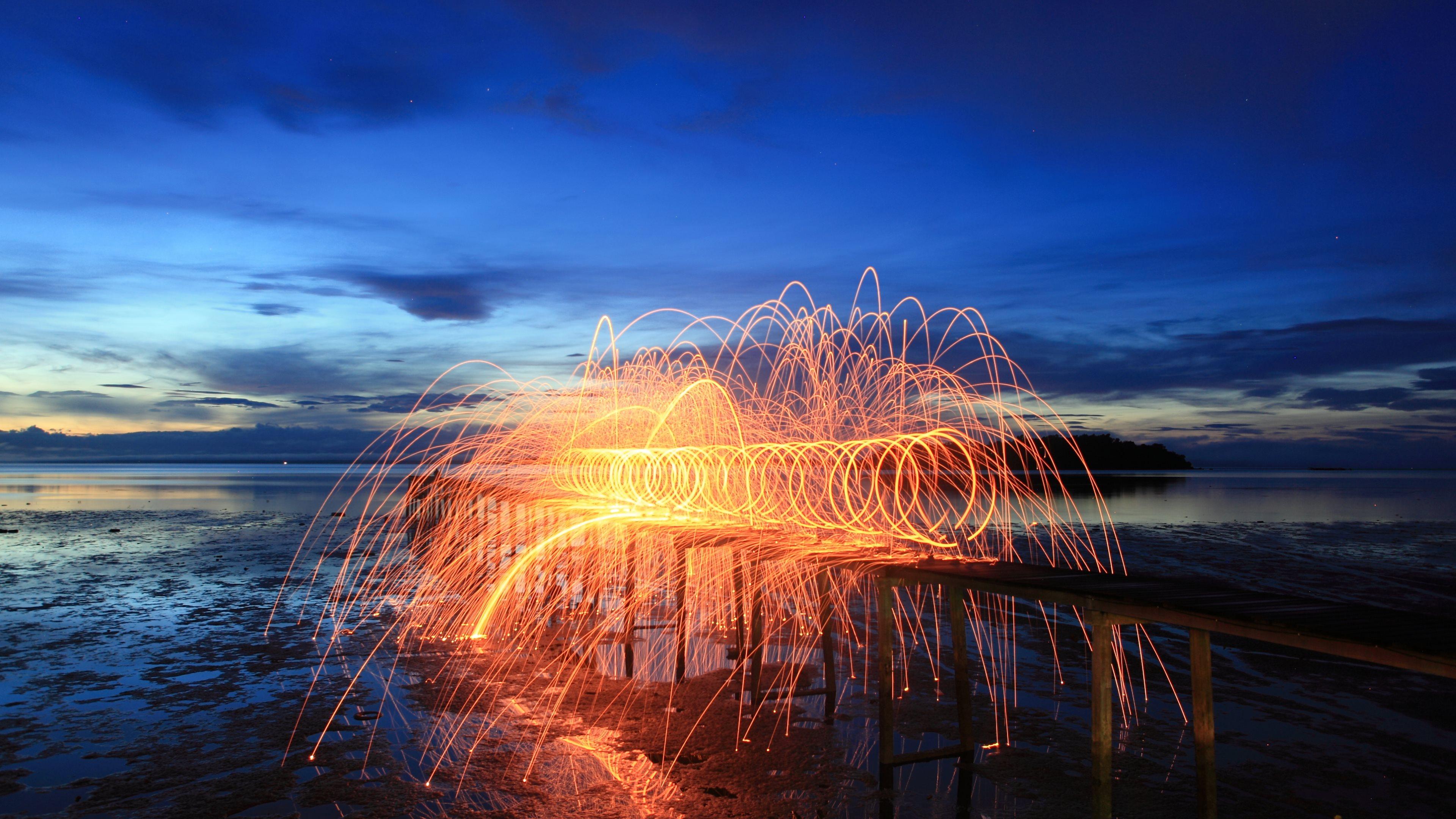 fireworks 4k Ultra HD Fond d'écran and Arrière-Plan | 3840x2160 | ID:549247
