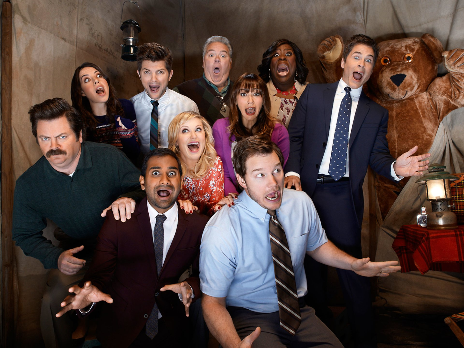 parks and recreation tv show wallpaper