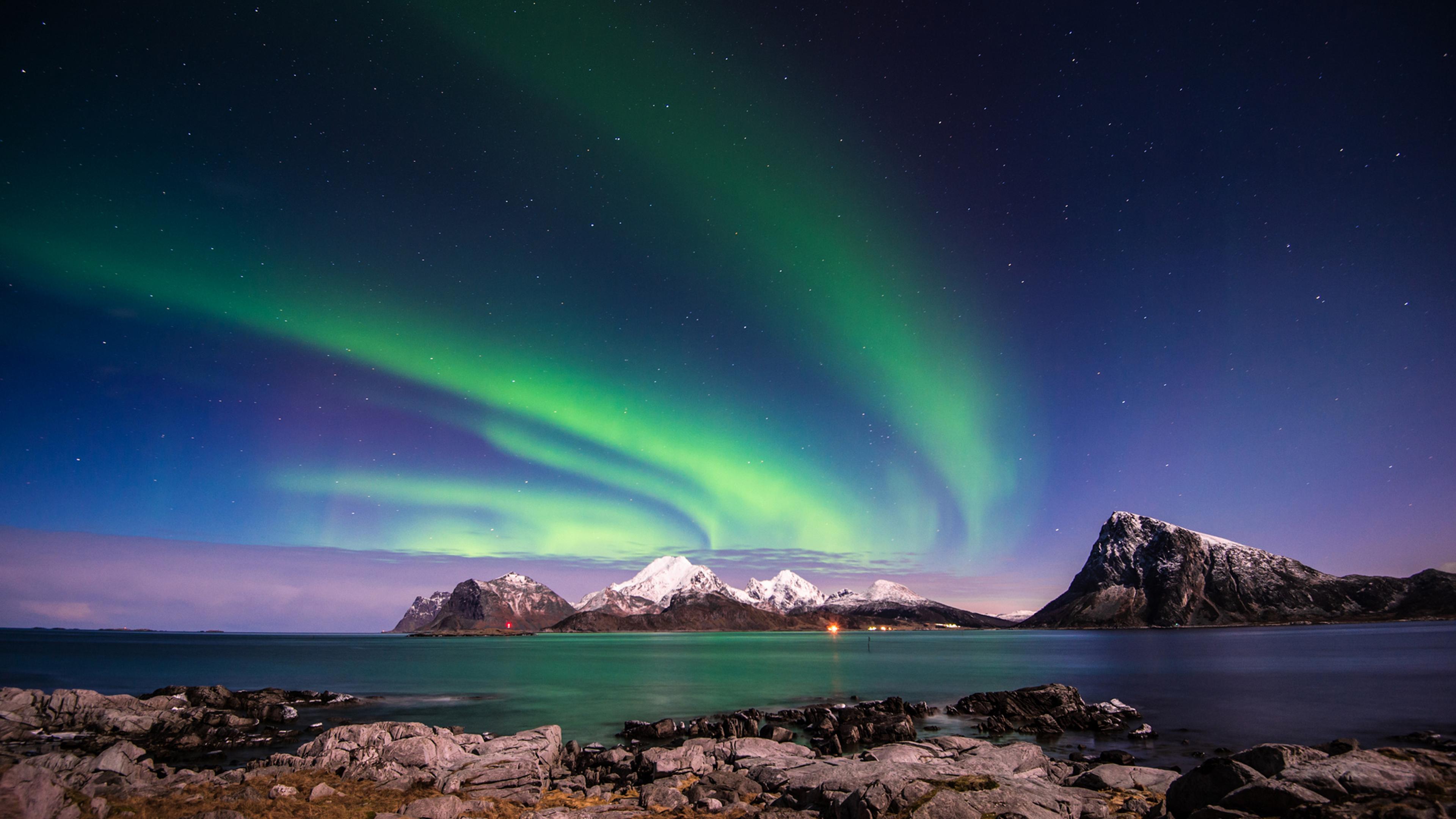 Aurora borealis 4k ultra hd wallpaper background image - Desktop wallpaper 4k ultra hd ...