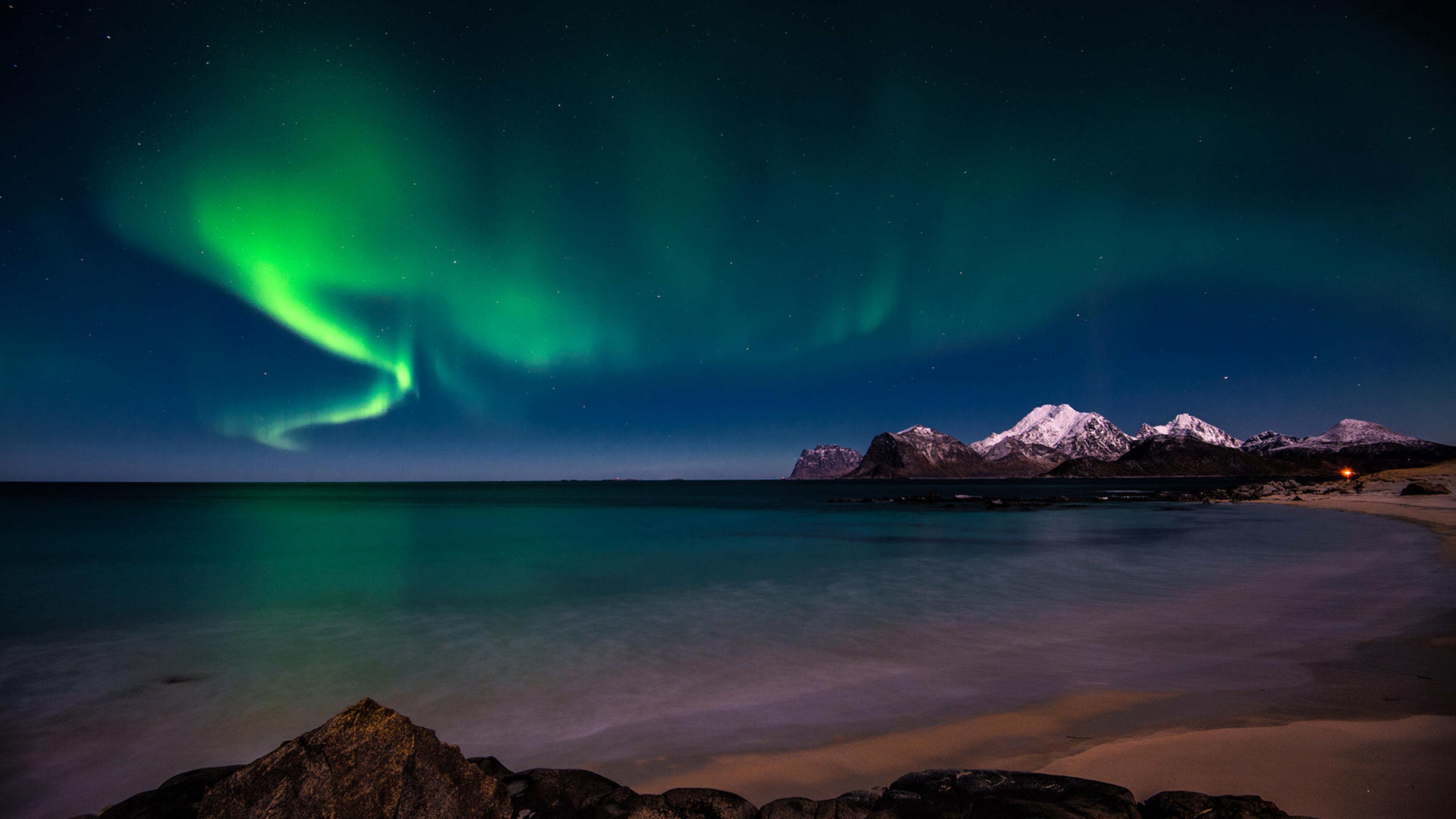 Aurora borealis sfondi per pc 3840x2160 id 550113 for Sfondi desktop aurora boreale