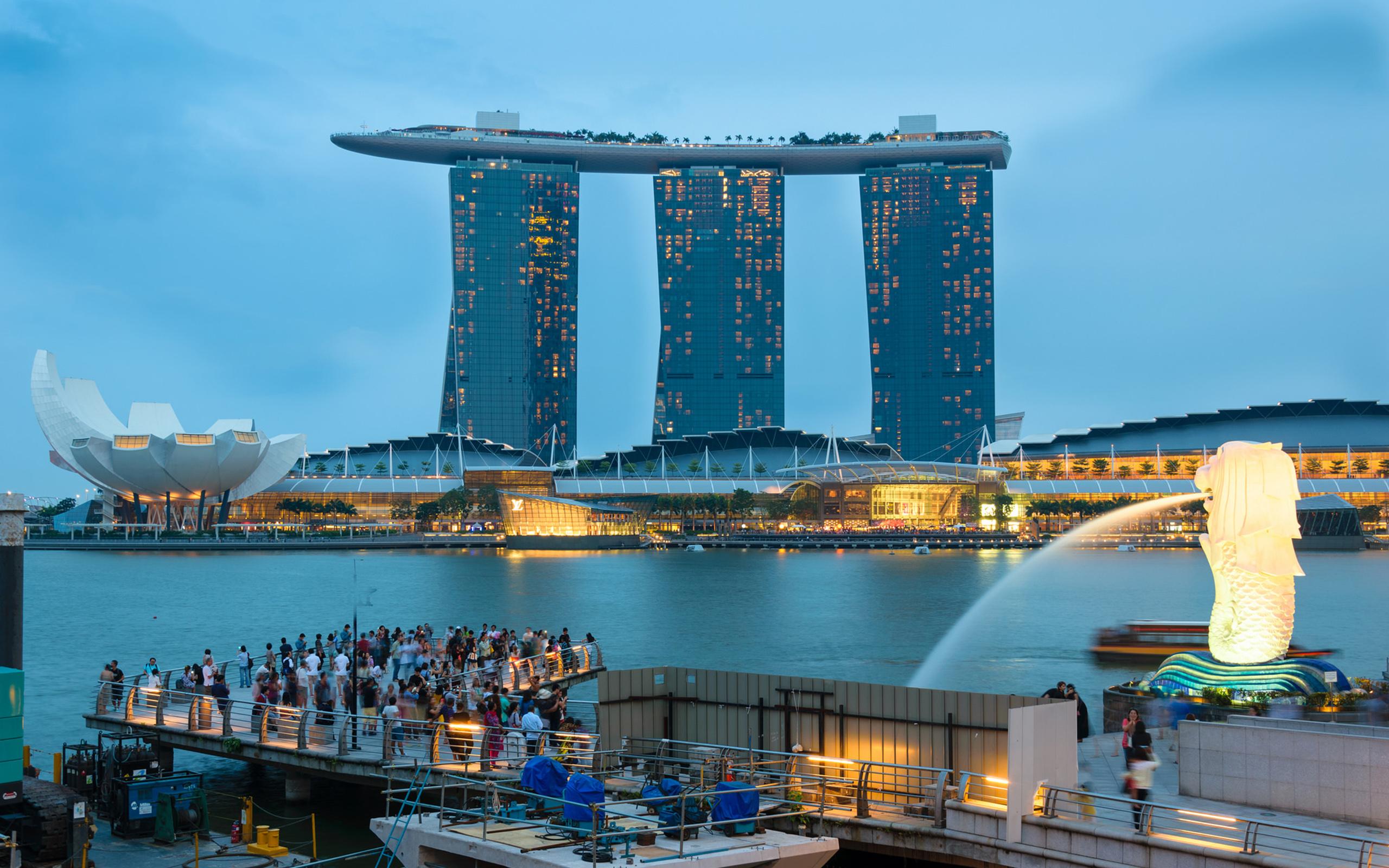Marina Bay Sands Fondo De Pantalla HD