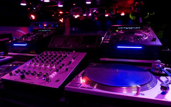 Musik DJ Colorful HD Wallpaper | Hintergrund