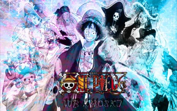 Anime One Piece Crew Monkey D. Luffy Nami Usopp Franky Pirate Nico Robin Roronoa Zoro Tony Tony Chopper HD Wallpaper | Background Image