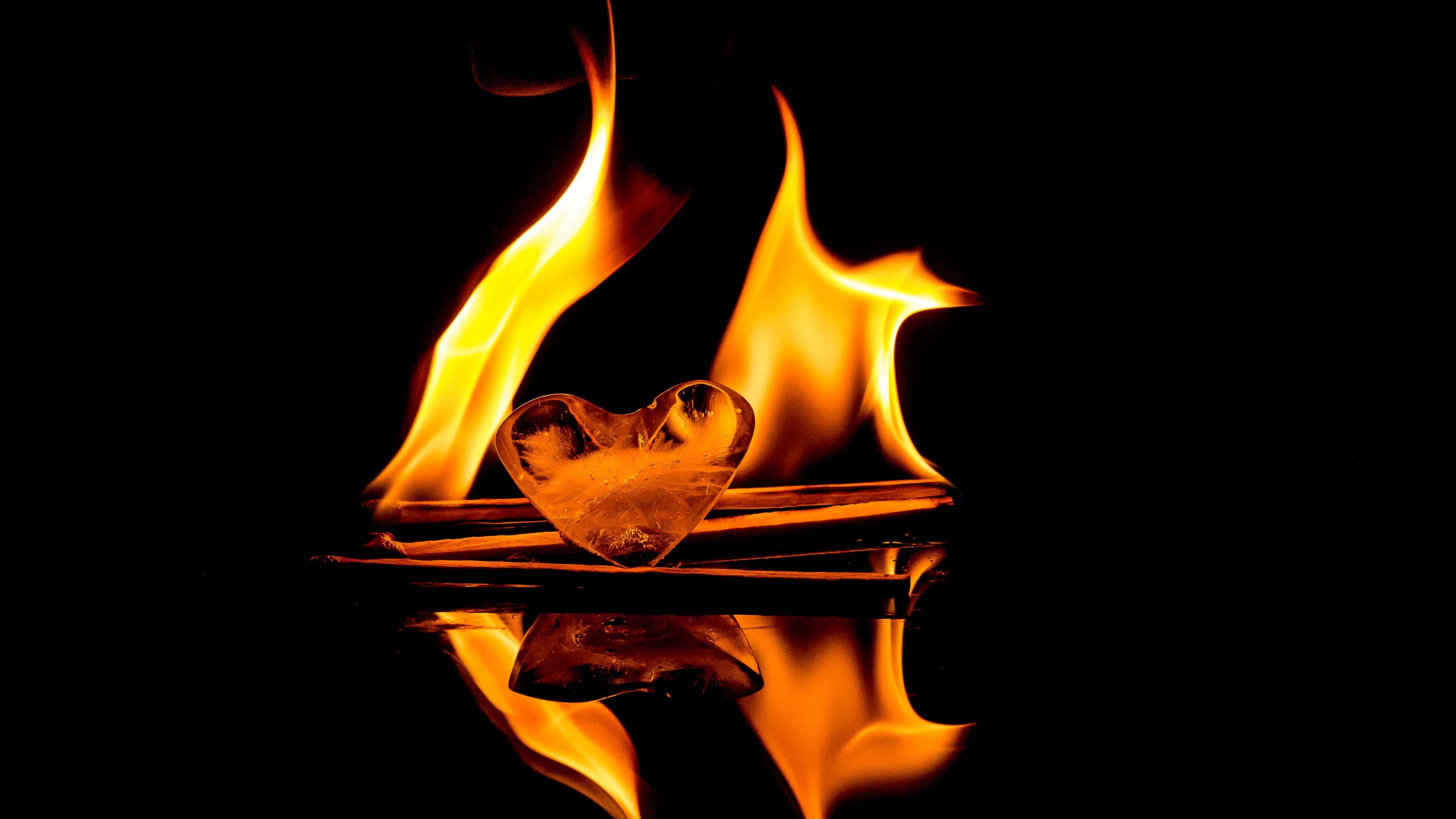 Fire 4k Ultra HD Wallpaper | Background Image | 3840x2160 ...