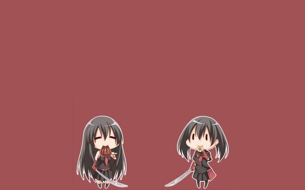 Anime Akame ga Kill! Akame Kurome HD Wallpaper | Background Image
