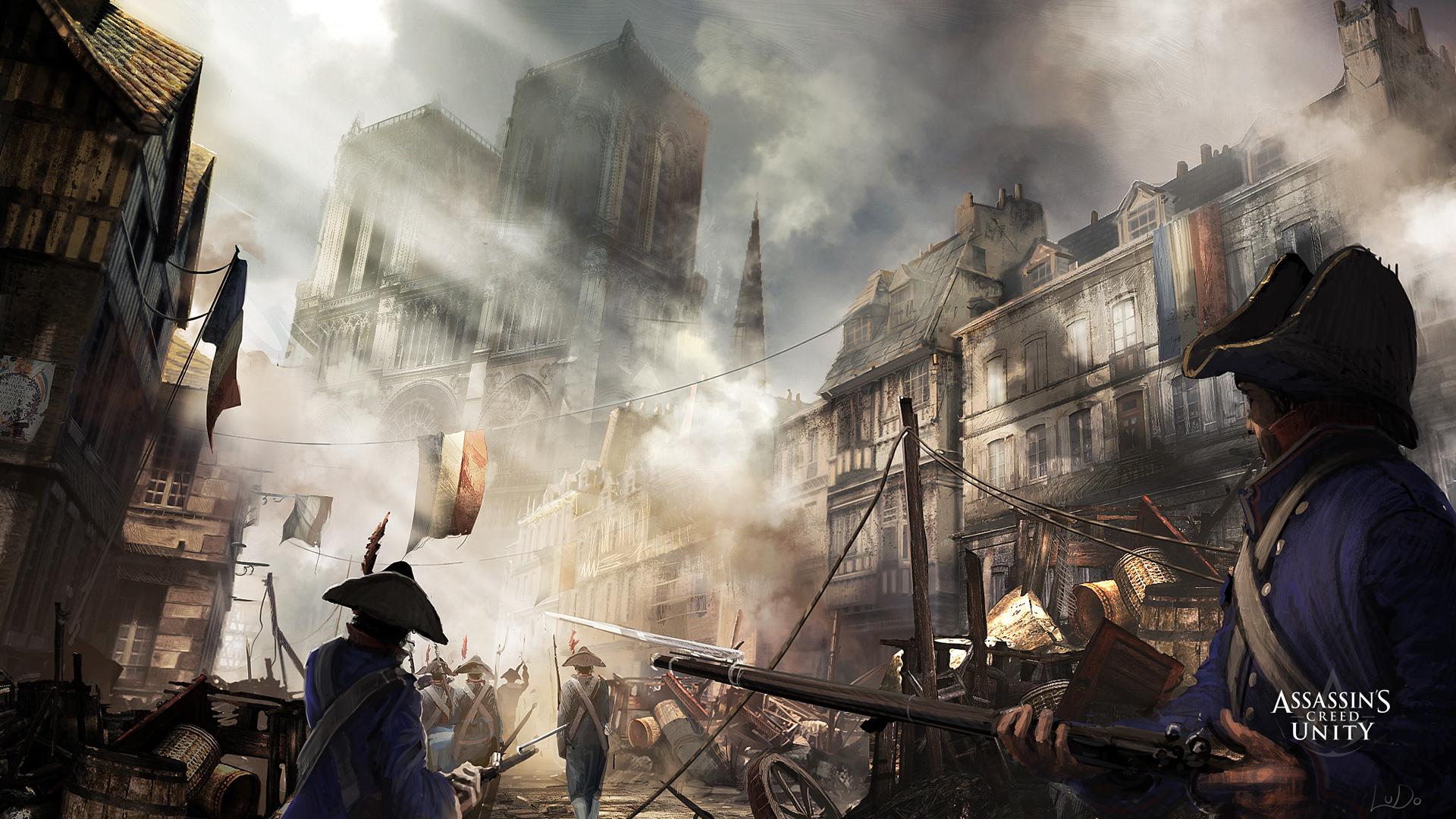 Assassin S Creed Unity Hd Wallpaper Background Image