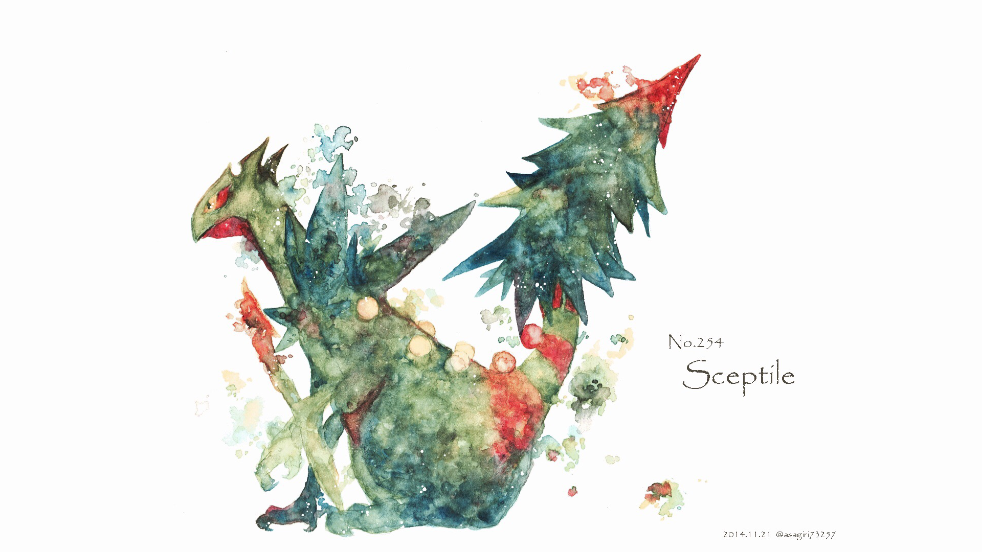 Mega Sceptile Computer Wallpapers Desktop Backgrounds