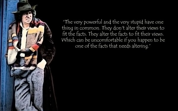 TV Show Doctor Who Quote HD Wallpaper   Background Image