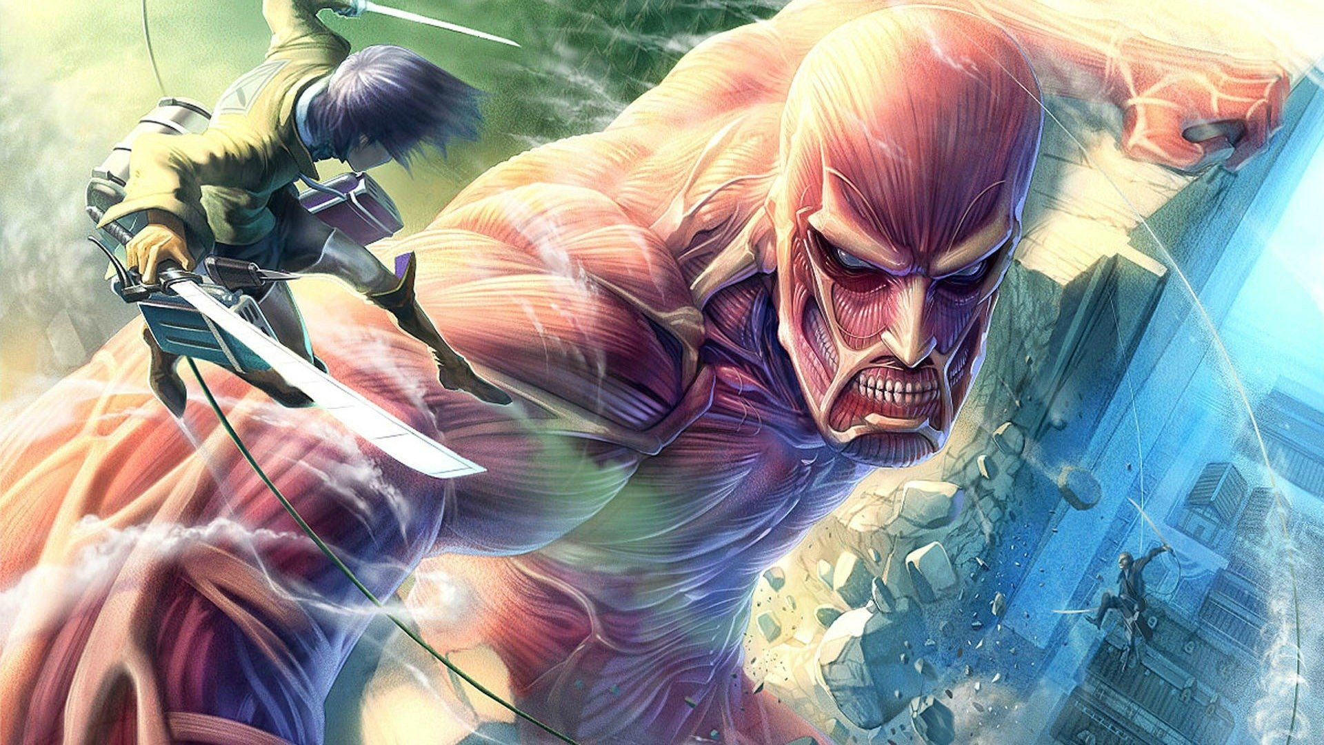 hd wallpaper hintergrund id557030 1920x1080 anime attack on titan