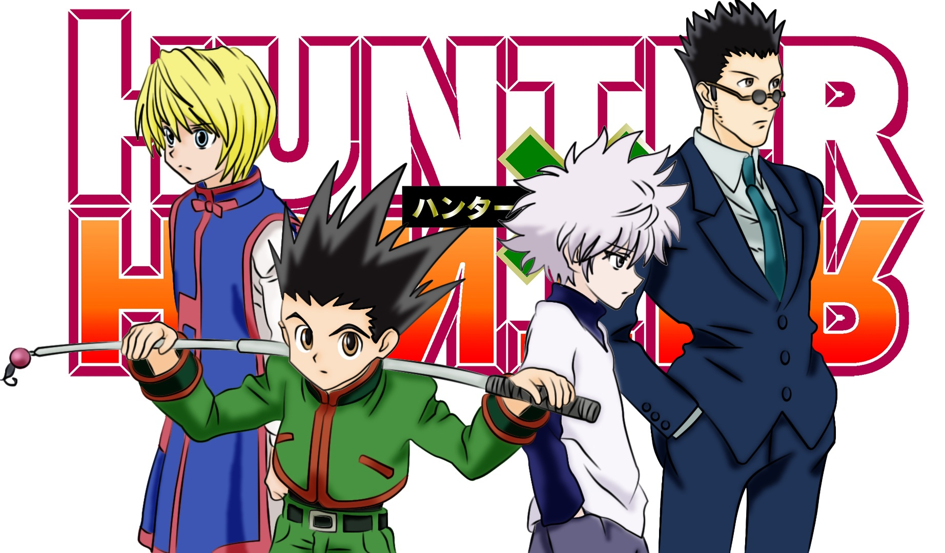 Anime Hunter X Hunter Wallpaper HD 4K for PC