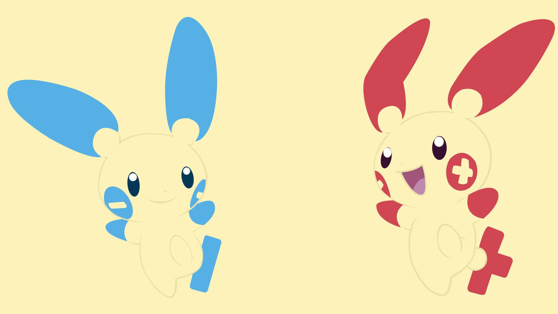 Plusle And Minun Wallpaper Minun and Plusle Full ...