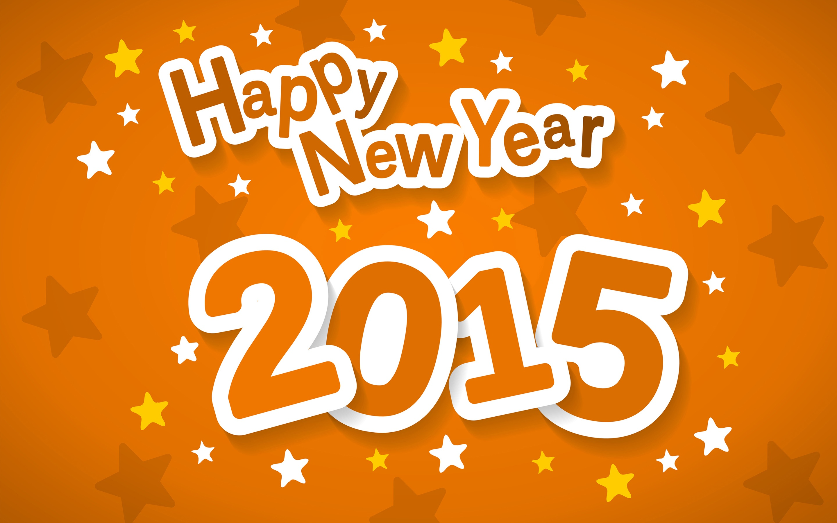 New Year 2015 Hd Wallpaper Background Image 2880x1800 Id