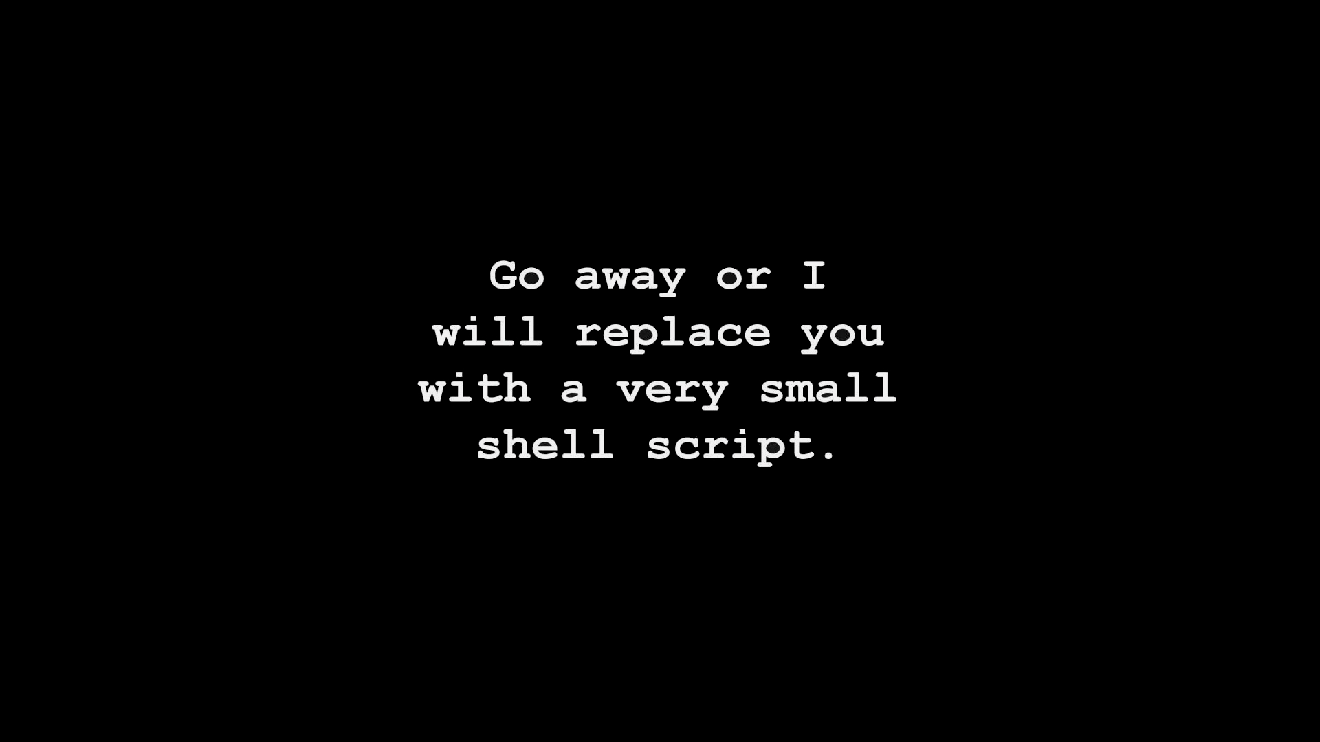 Shell Script Full HD Wallpaper And Background Image