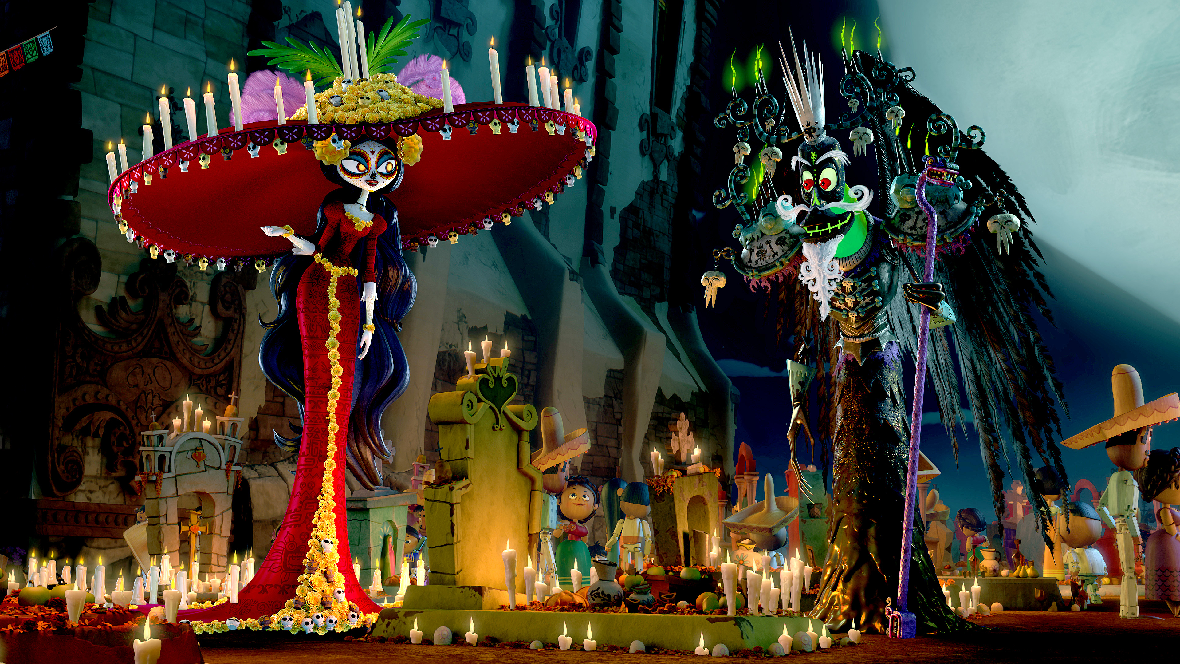 7 La Muerte The Book Of Life Hd Wallpapers Background Images