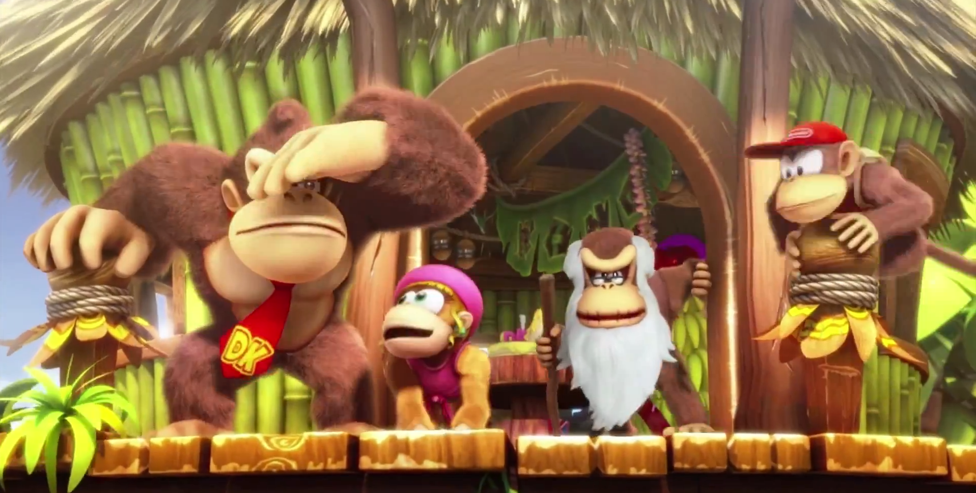 Donkey Kong Country Tropical Freeze Wallpaper And Background