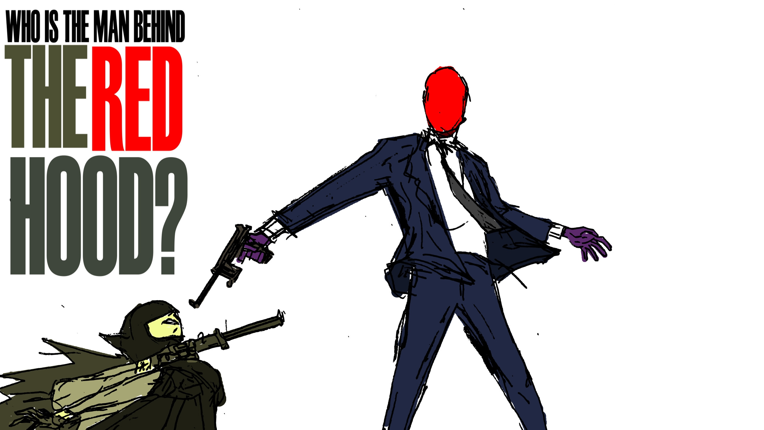 batman vs red hood - photo #25