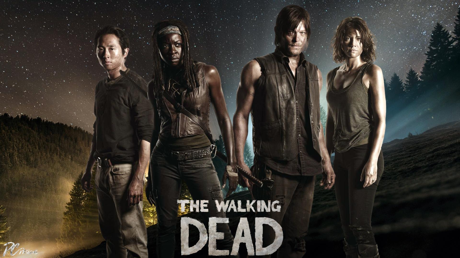 The Walking Dead Logo 2014 Fondo De Pantalla Fondos De: The Walking Dead Fondo De Pantalla HD