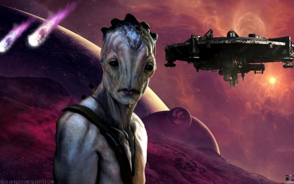 Sci Fi Alien Extraterrestrial HD Wallpaper | Background Image