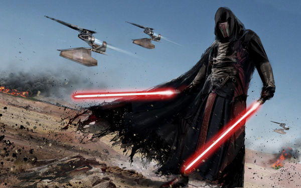 Video Game Star Wars: Knights of the Old Republic Star Wars Darth Revan HD Wallpaper | Background Image