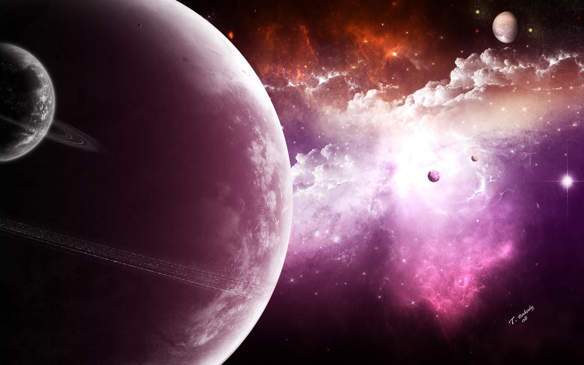 Sci Fi - Planet  Wallpaper
