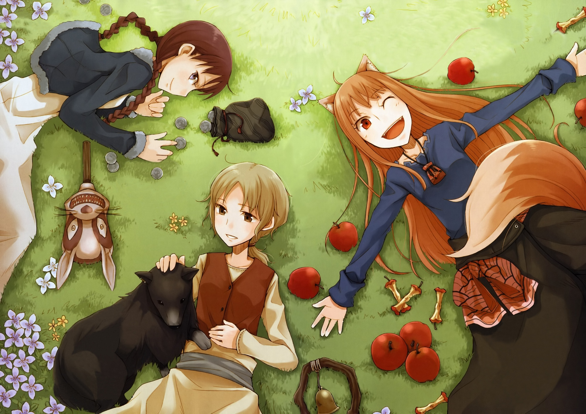 353 Spice And Wolf Hd Wallpapers Background Images Wallpaper Abyss