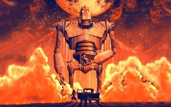 gallery for the iron giant wallpaper
