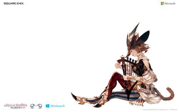 Video Game Final Fantasy XIV: A Realm Reborn Final Fantasy Bard HD Wallpaper | Background Image