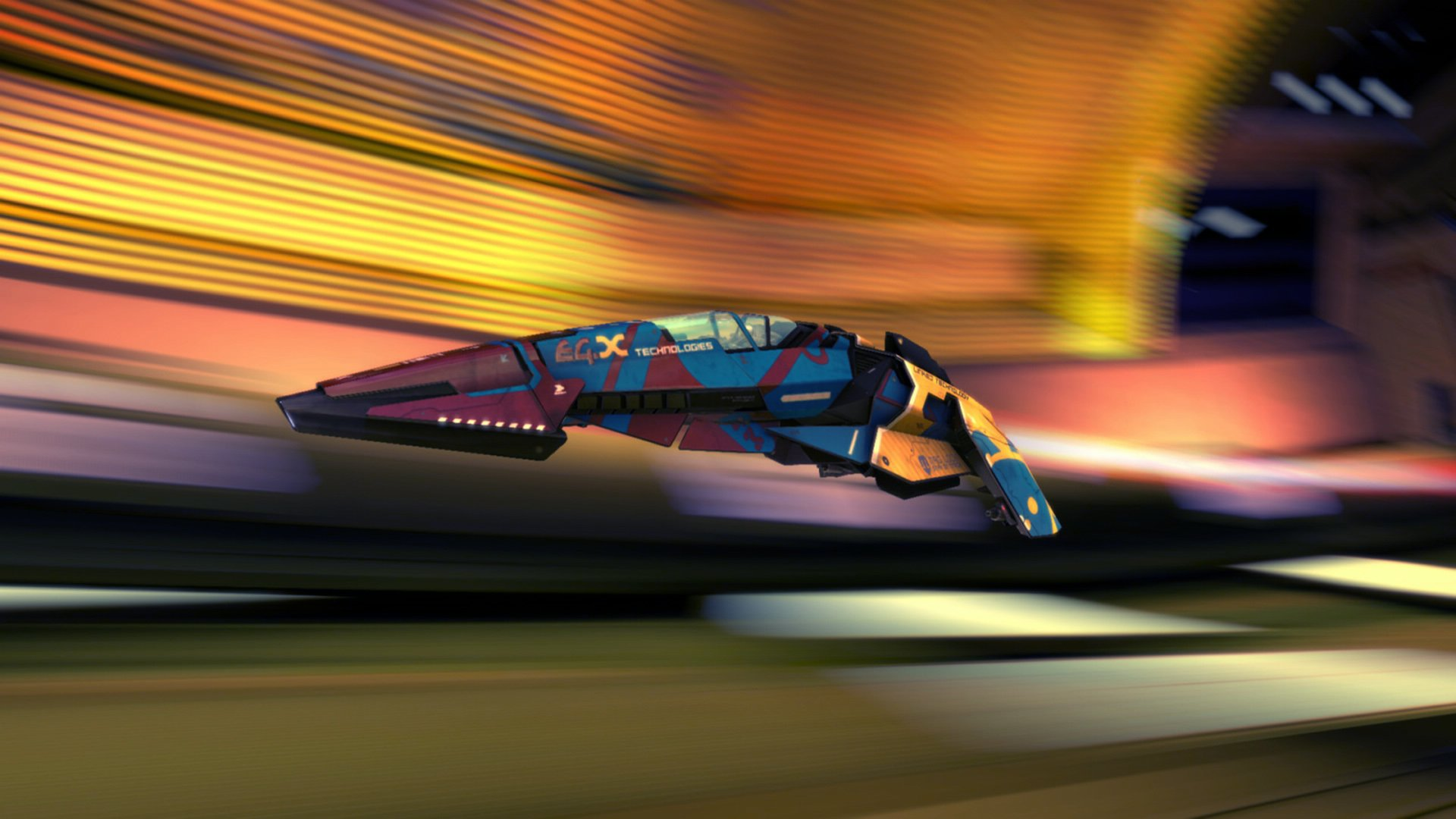 Video Game - Wipeout  Wallpaper