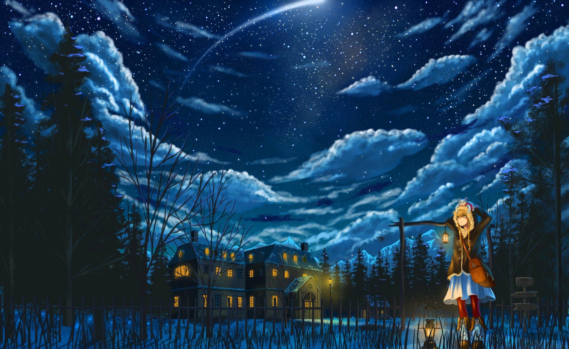 Pixiv Fantasia: New World HD Wallpaper | Background Image