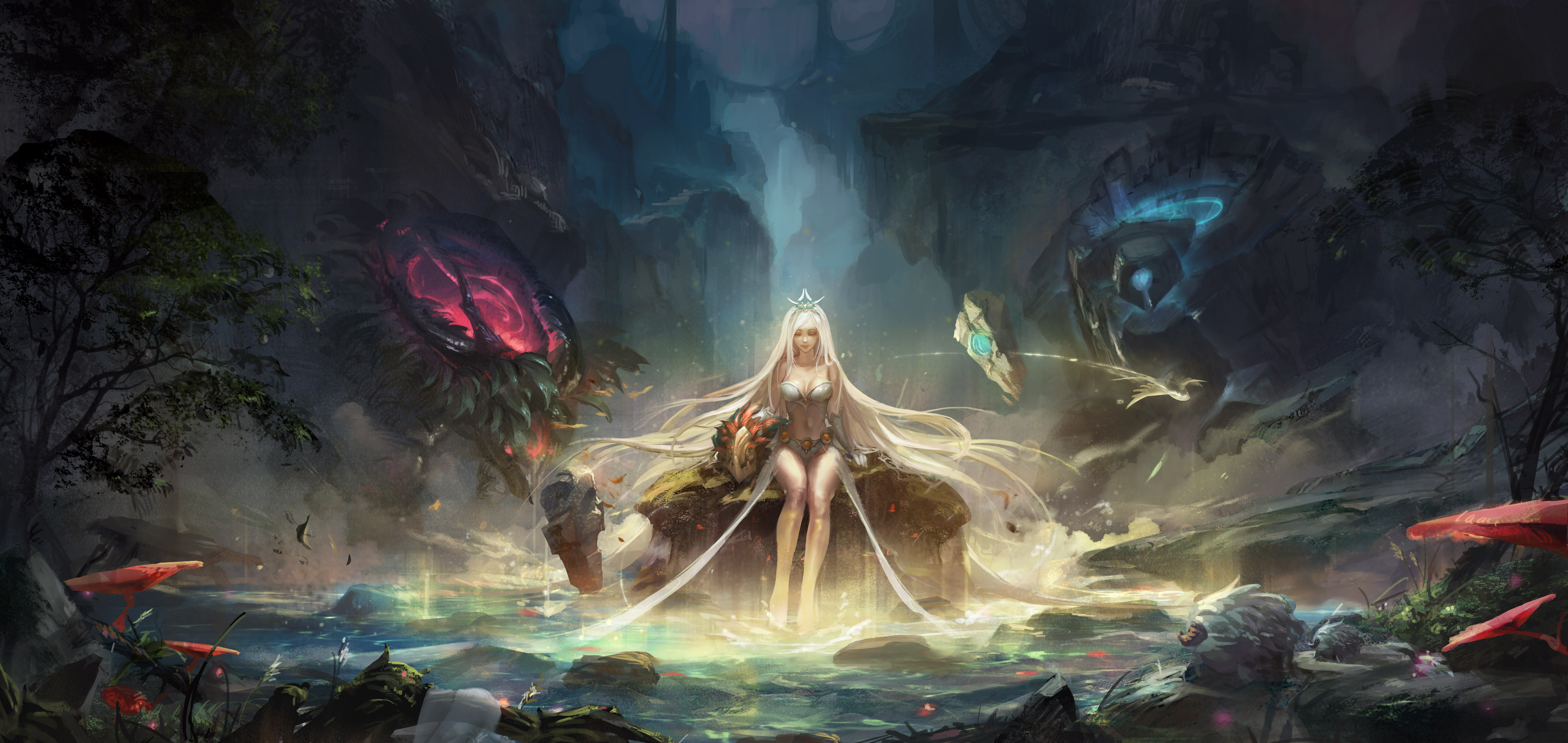 League Of Legends Champion Janna 5k Retina Ultra Hd