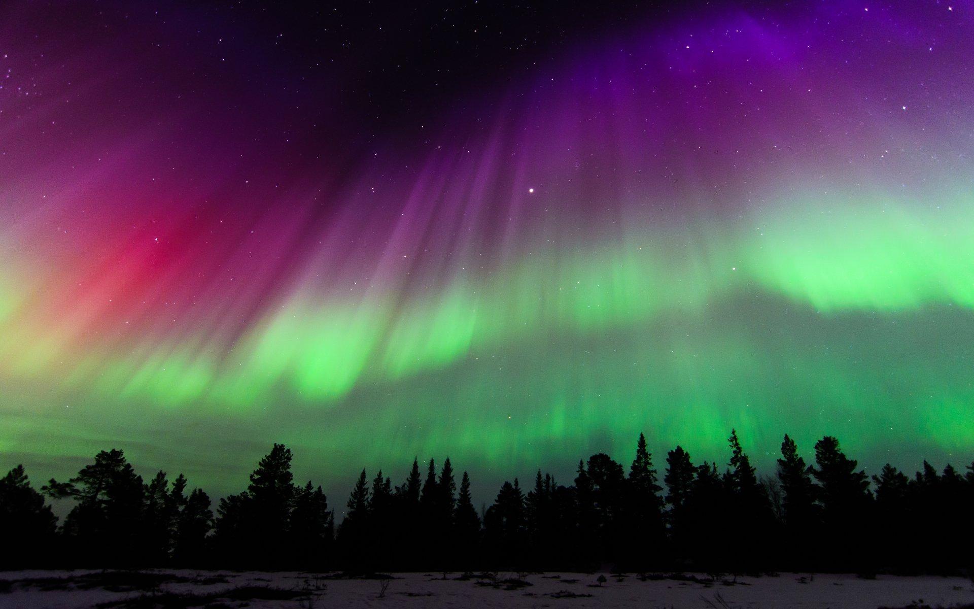 Earth - Aurora Borealis  Norway Sky Stars Wallpaper