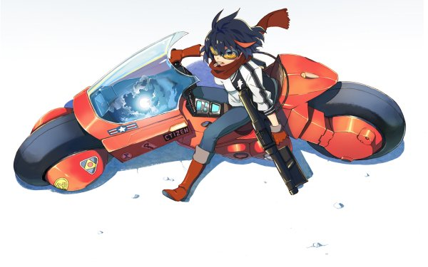 Anime Crossover Kill La Kill Akira Ryūko Matoi HD Wallpaper | Background Image