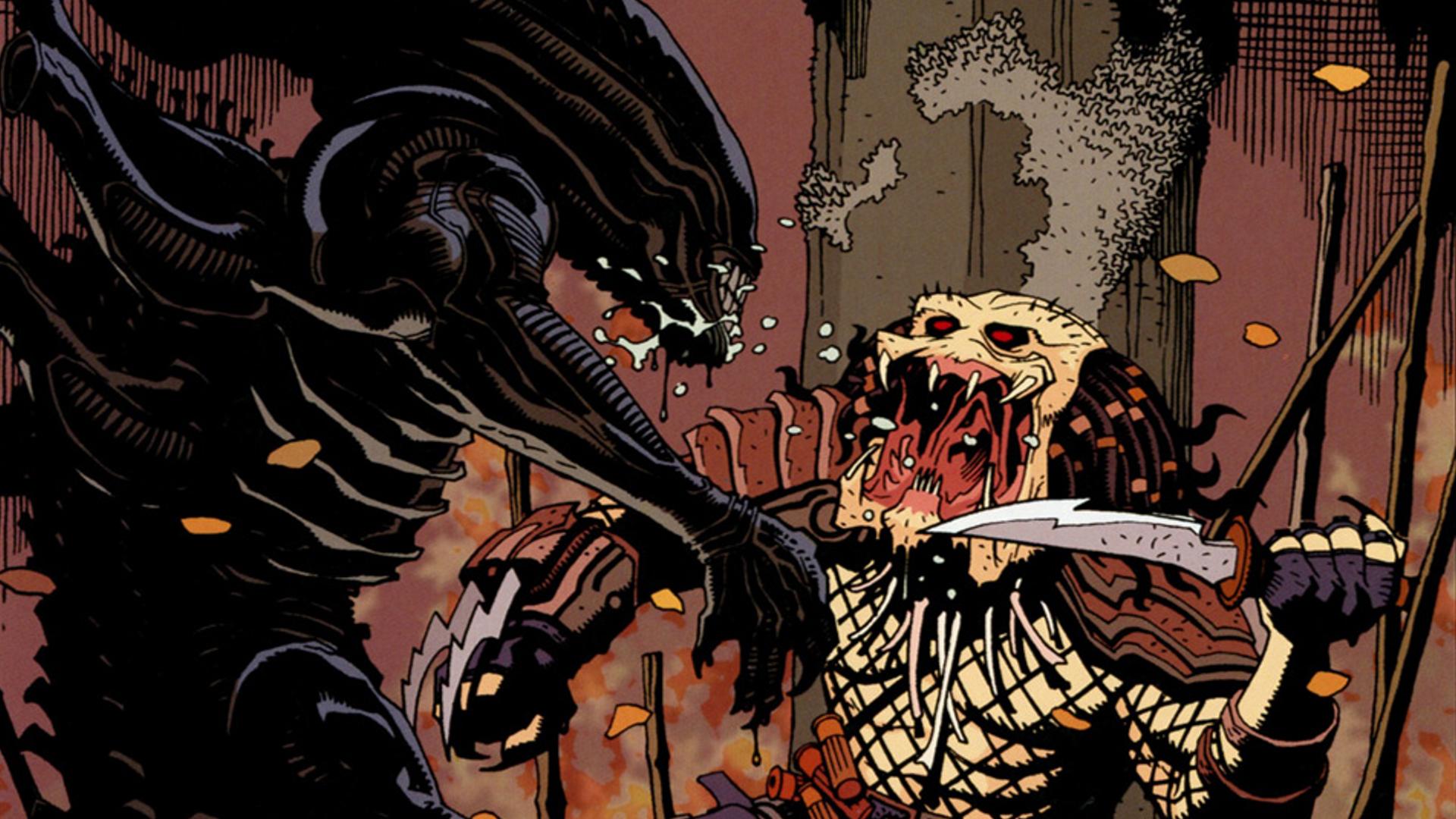 aliens vs. predator full hd wallpaper and background image