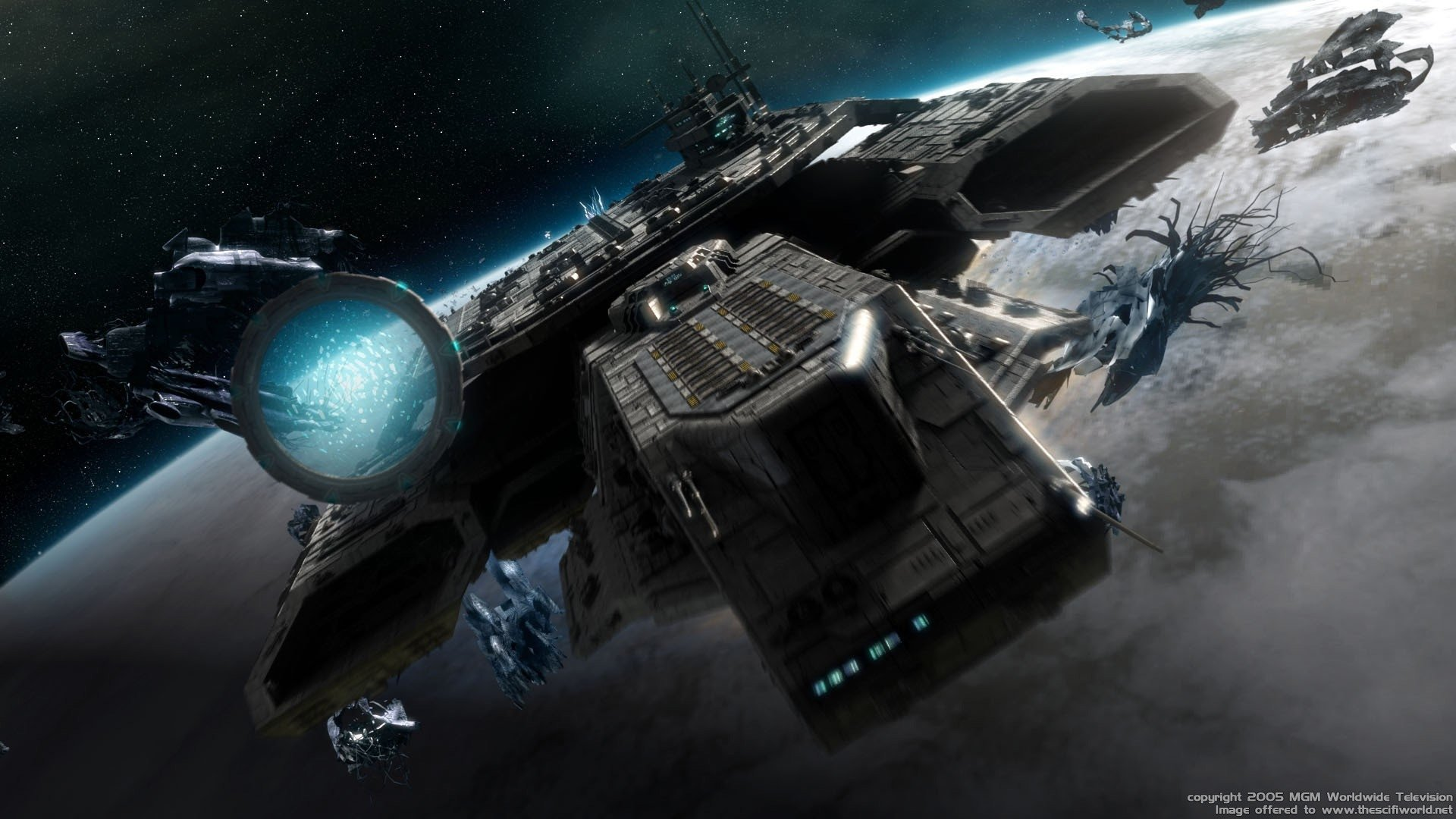 302 Stargate HD Wallpapers | Background