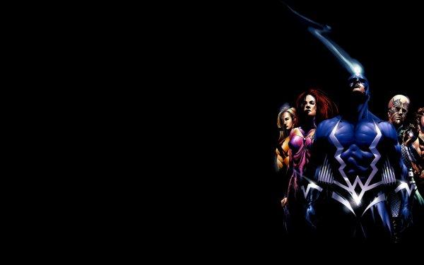 Comics Inhumans Marvel Comics Black Bolt Karnak Gorgon Triton Medusa Crystal Fondo de pantalla HD | Fondo de Escritorio