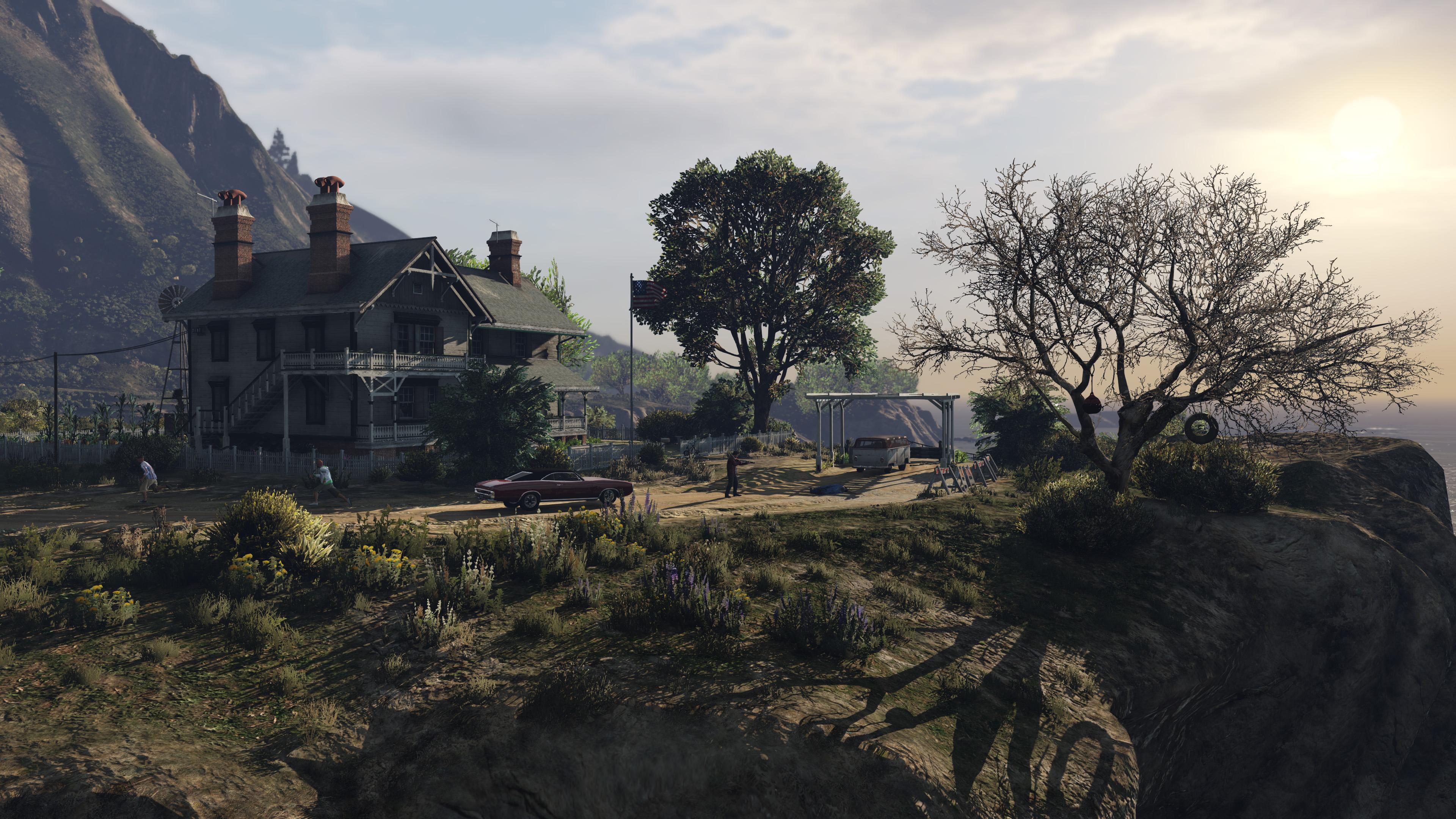 Grand Theft Auto V 4k Ultra Papel De Parede HD
