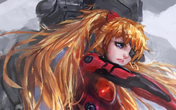 Anime Evangelion: 3.0 You Can (Not) Redo Evangelion Asuka Langley Sohryu HD Wallpaper | Background Image