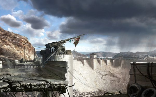 Video Game Fallout: New Vegas Fallout Dam Hoover HD Wallpaper | Background Image