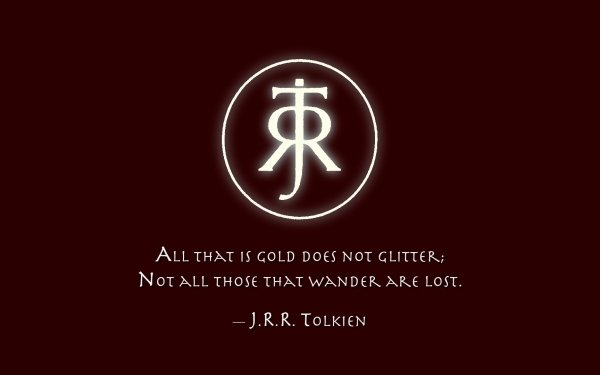 Misc Quote Tolkien HD Wallpaper | Background Image