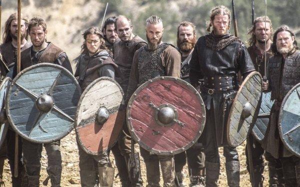 TV Show Vikings Ragnar Lothbrok Shield HD Wallpaper | Background Image
