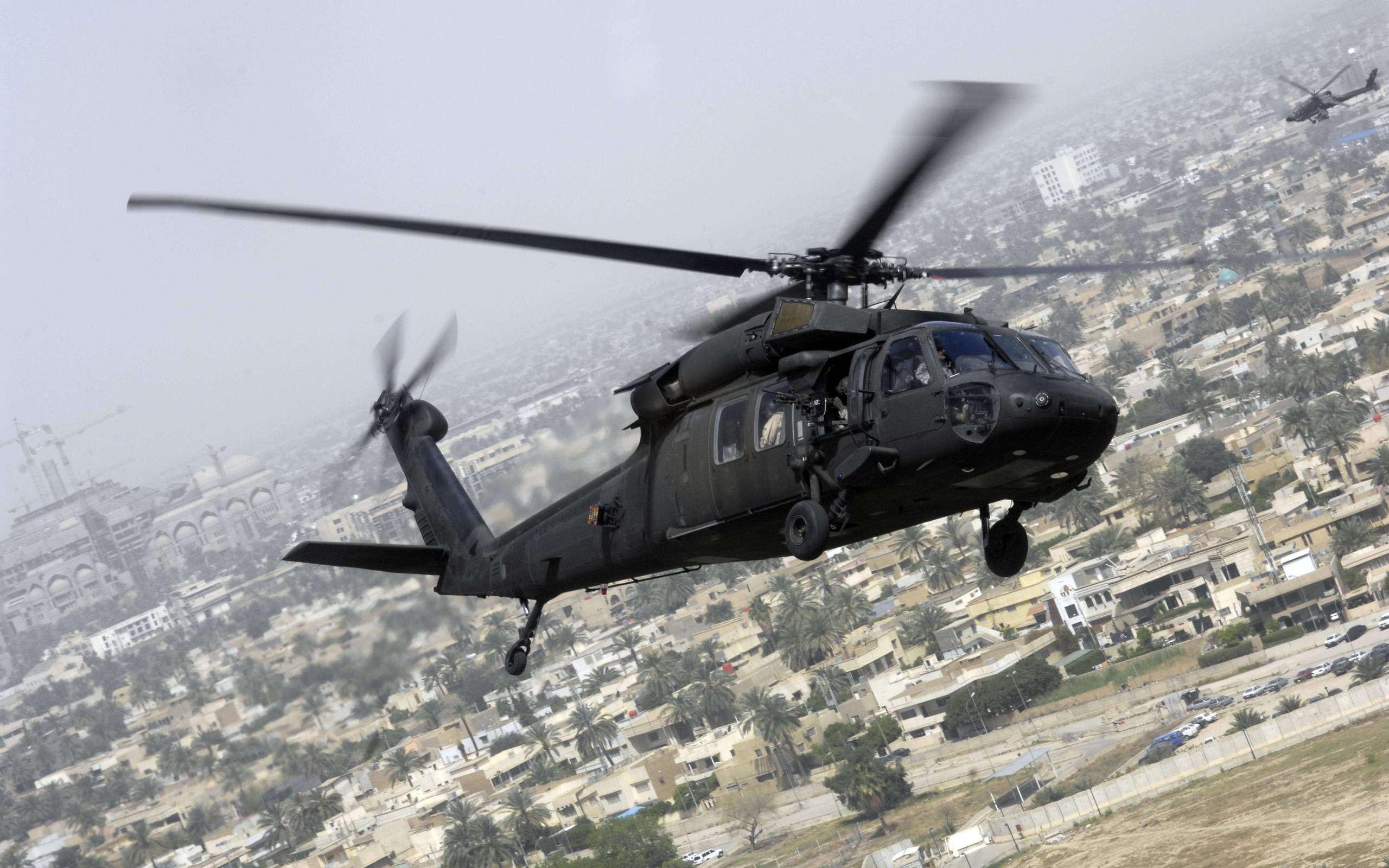 Helicoptero Hd Fondos De Escritorio: Sikorsky UH-60 Black Hawk Full HD Fondo De Pantalla And