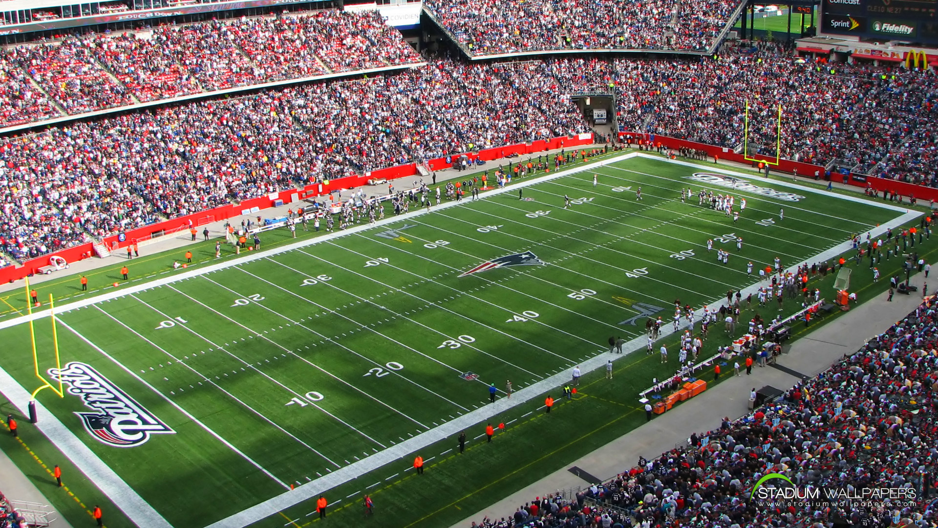 New england patriots stadium full hd wallpaper and background image sports new england patriots wallpaper voltagebd Images