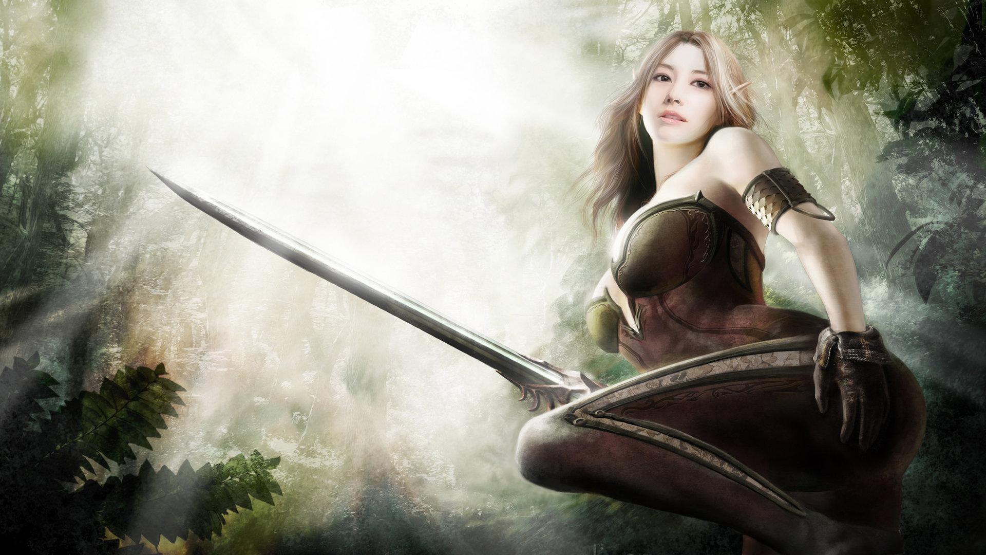 warrior elf desktop wallpapers - photo #26