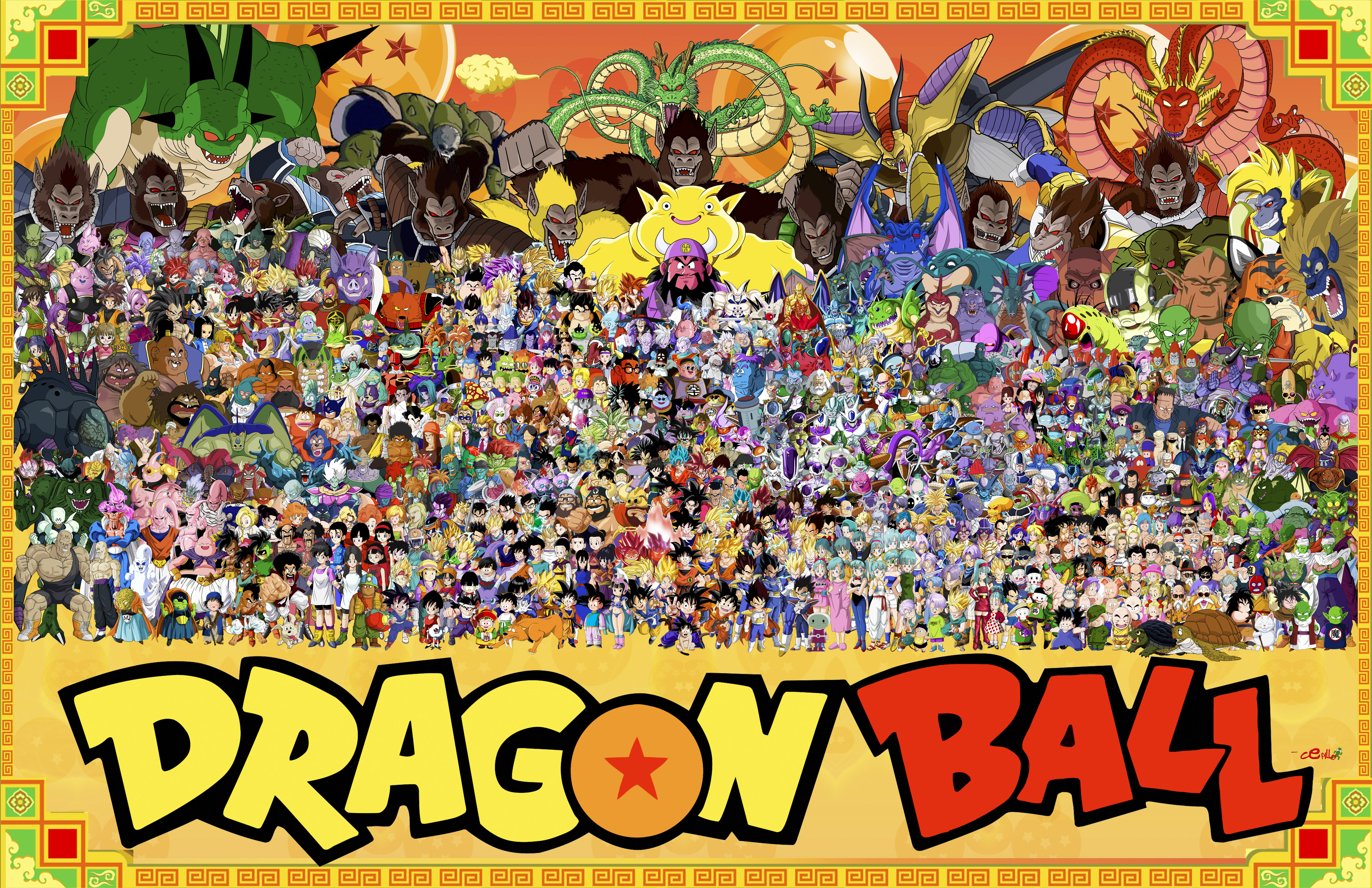 Anime Dragon Ball Z Papel De Parede