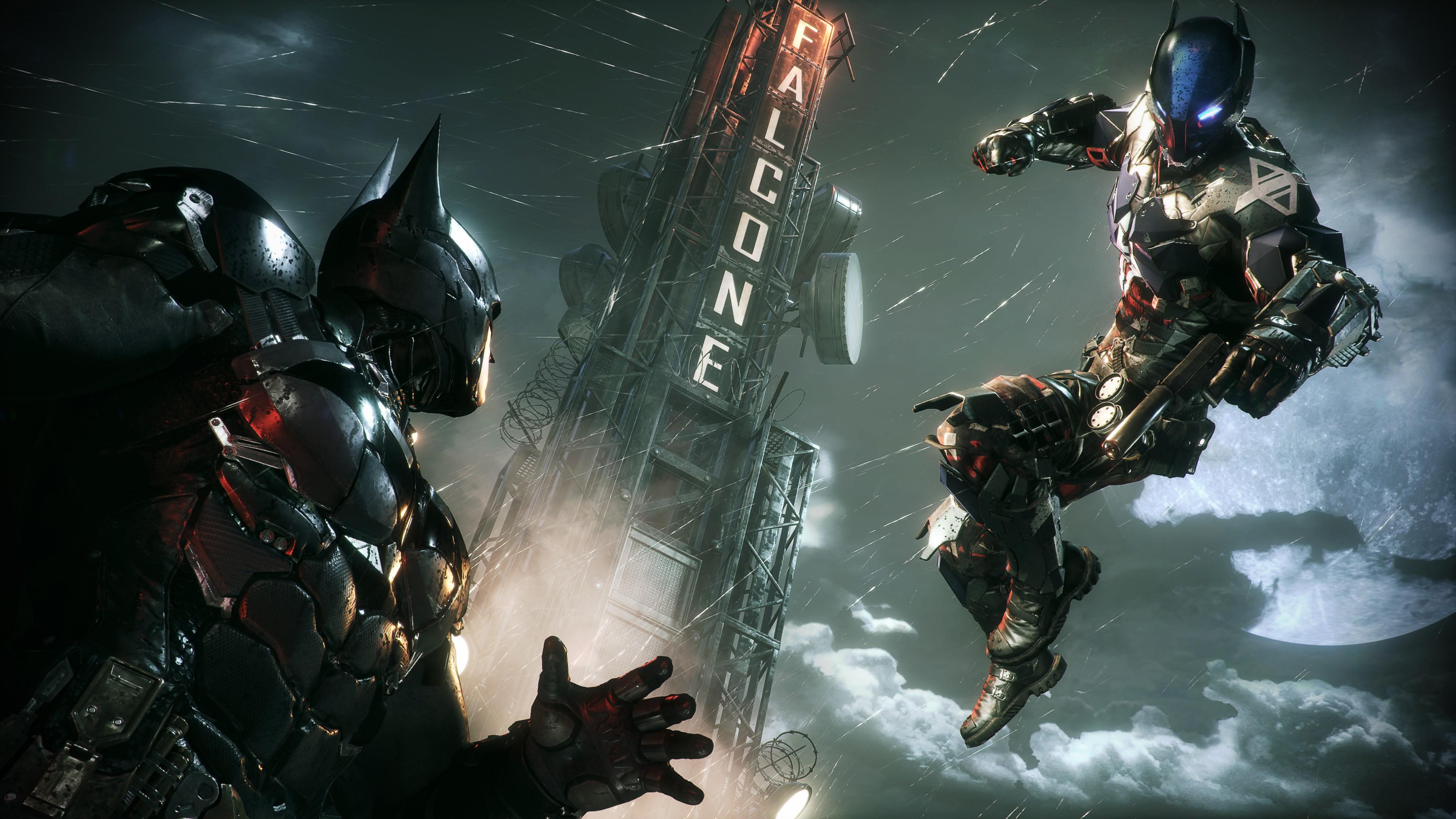 batman arkham knight 4k ultra hd wallpaper background image
