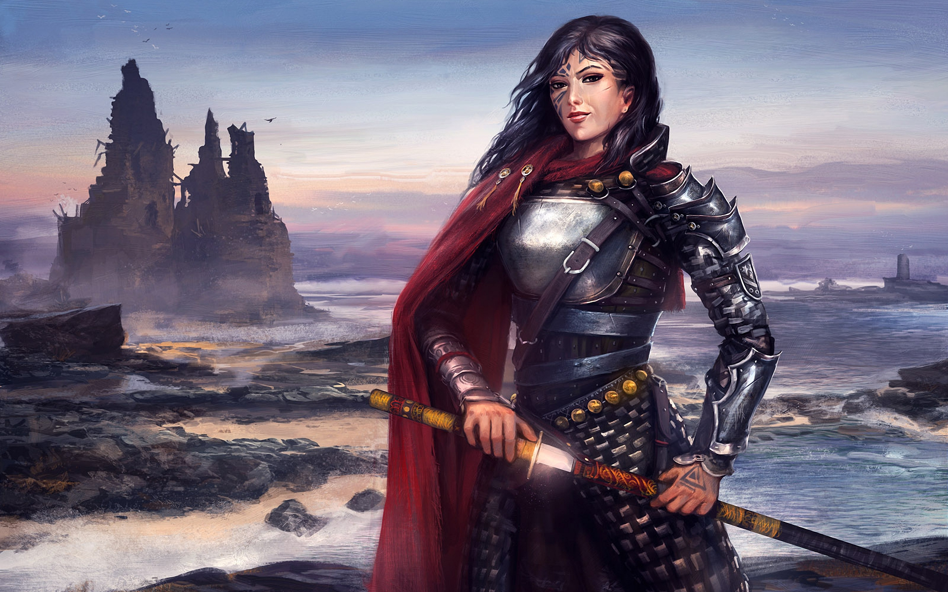 download wallpaper female warrior - photo #45
