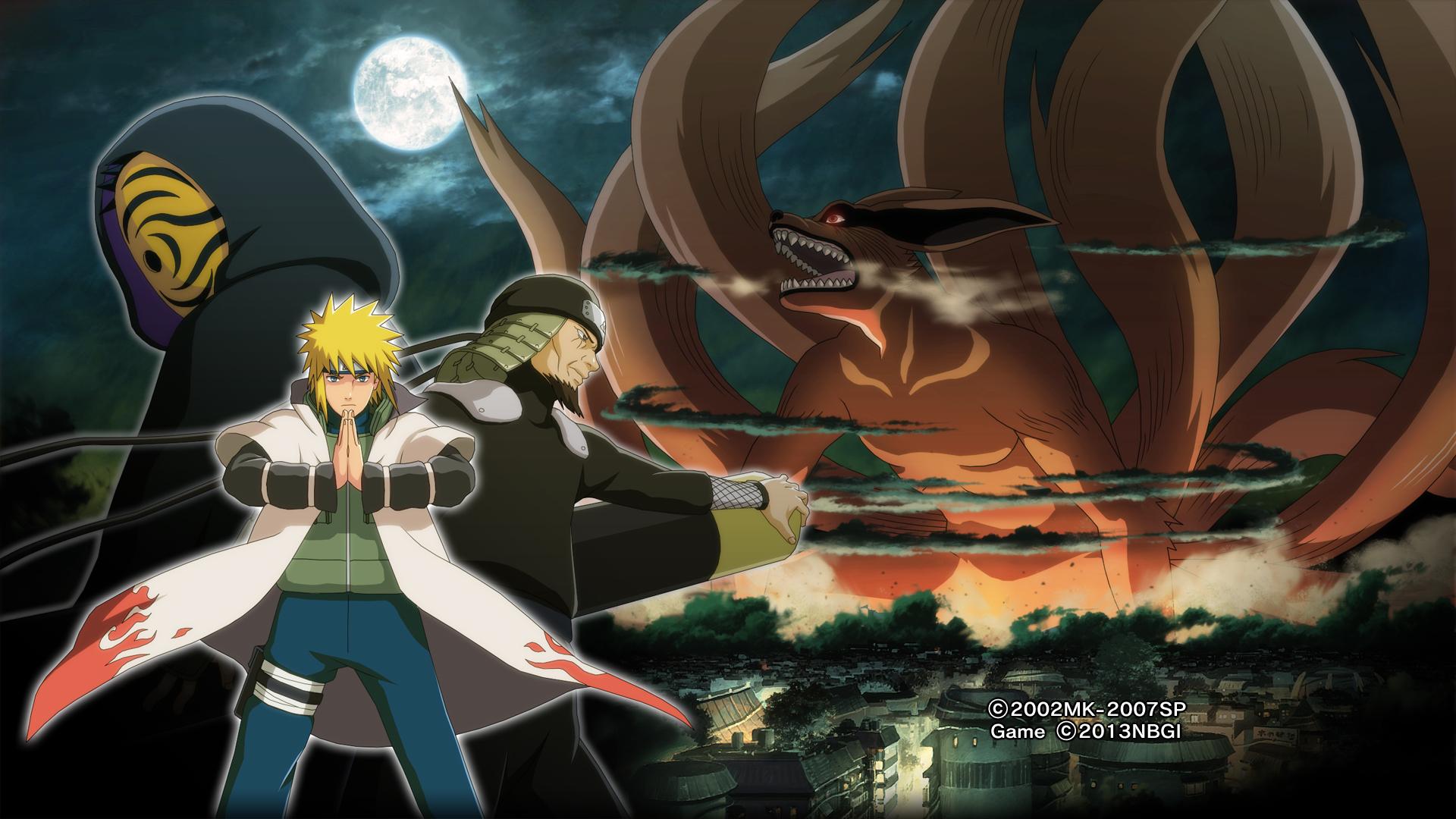 Naruto Shippuden: Ultimate Ninja Storm 3 HD Wallpaper