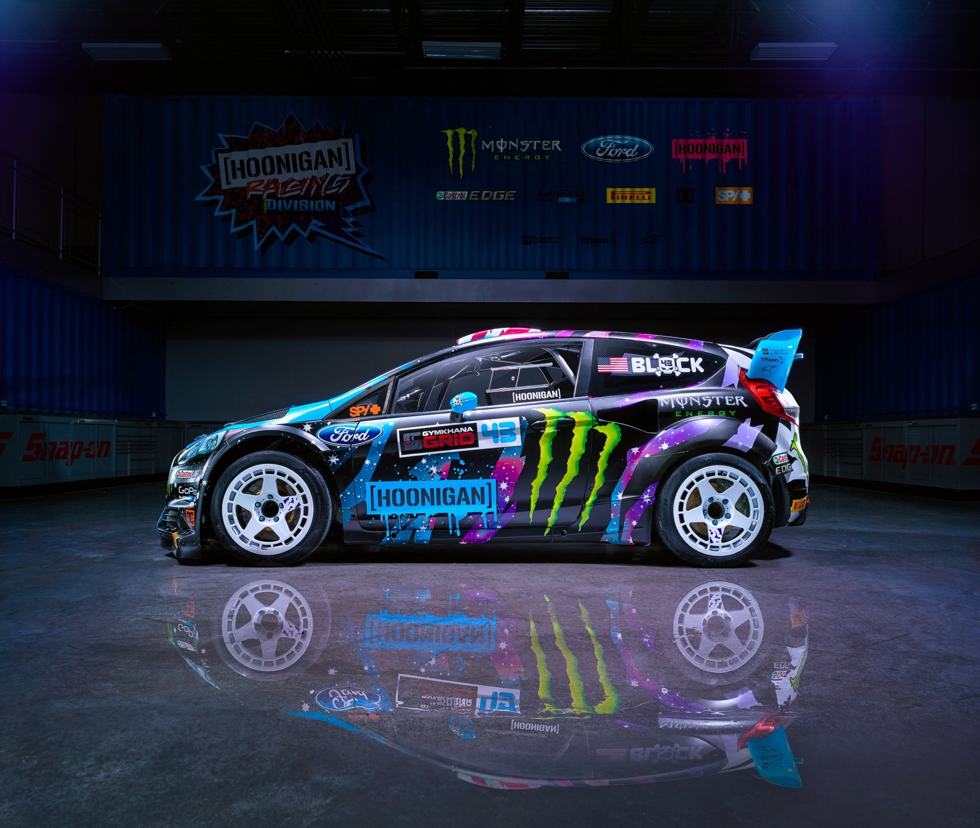 Vehicles - Ford Fiesta RX43  Ford Ford Fiesta Car Race Car Wallpaper