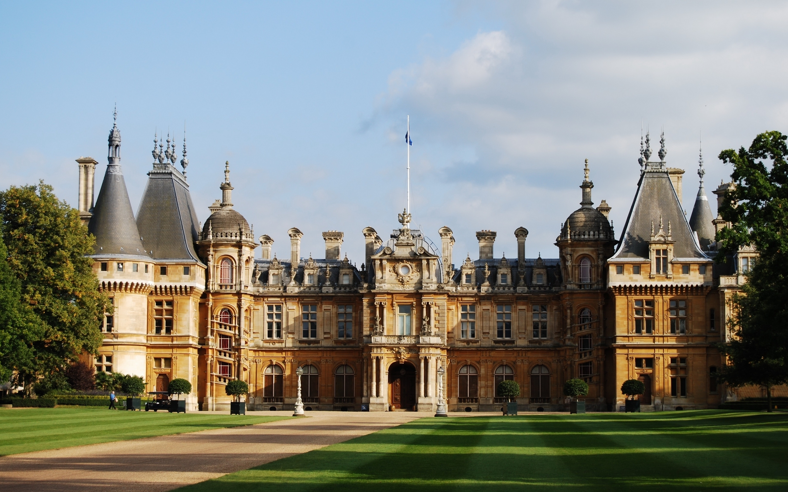 Waddesdon manor full hd wallpaper and background image for Wallpaper home england