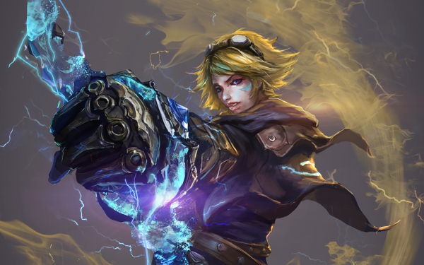 Video Game League Of Legends Ezreal Magic HD Wallpaper | Background Image